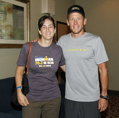 Photo of Sia and Lance Armstrong
